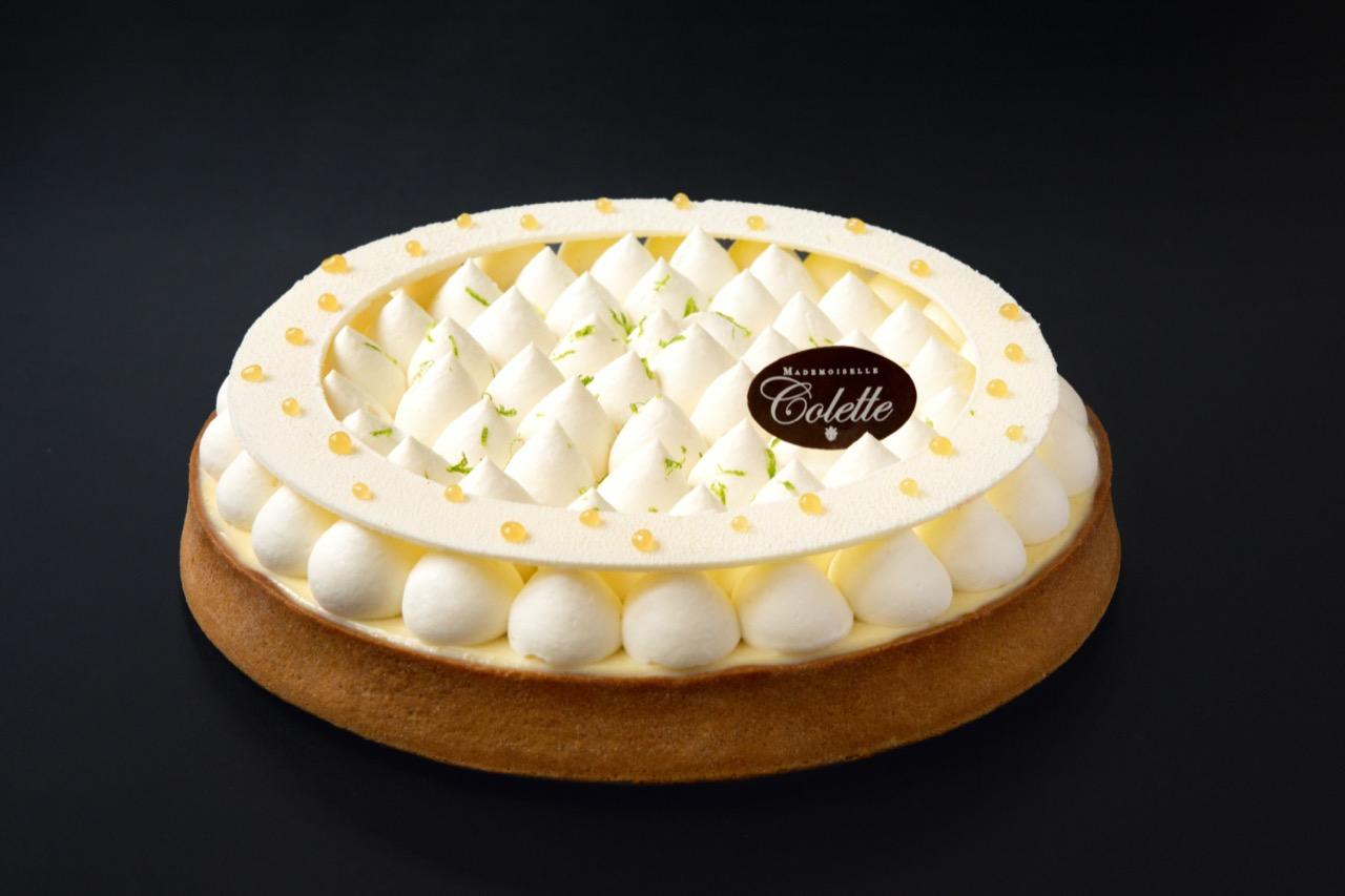 Lemon tart Mademoiselle colette